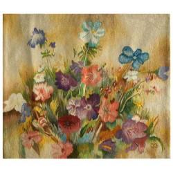 """Gobelin """"Kompozycja kwiatowa"""""""