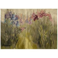 """Gobelin """"Leśne kwiaty"""""""